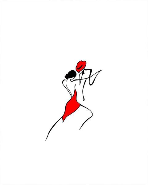 Tema para Tango Rubro, por Mariza Baur