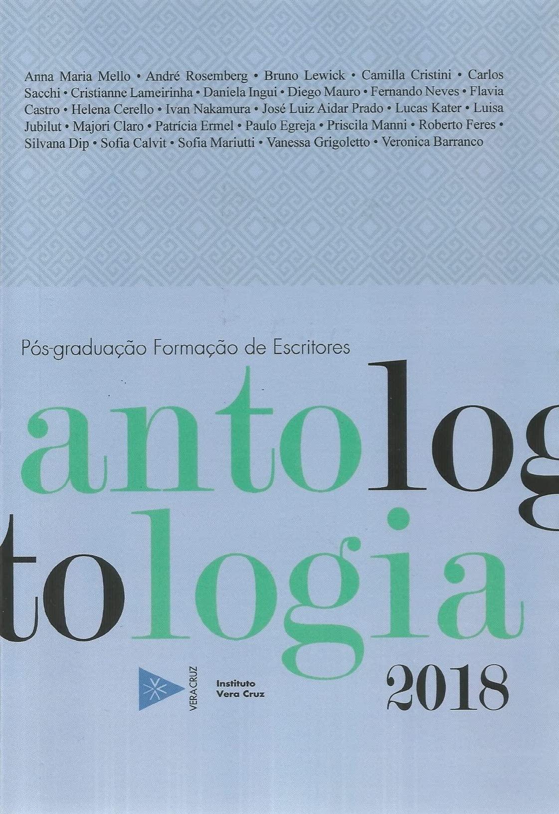 Antologia de Contos, 2018 - Anna Maria Mello