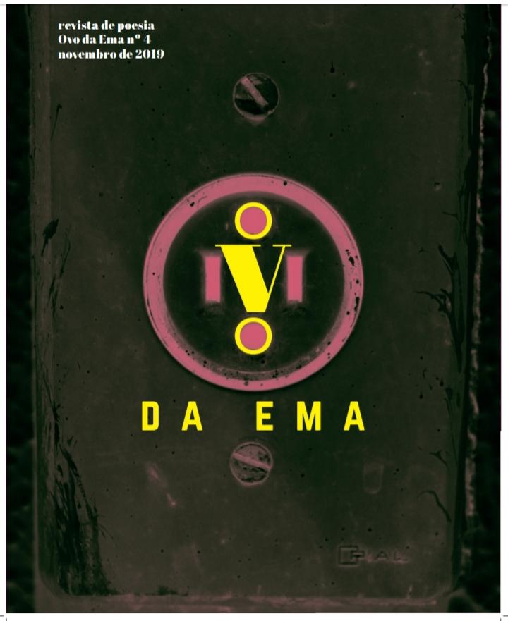 Revista de Poesias - Ovo da Ema - Anna Maria Mello