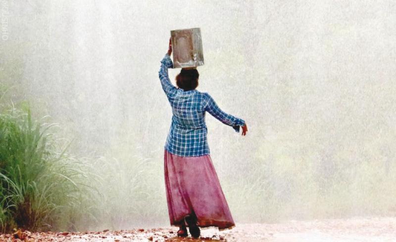 Lata d'água, por Sofia Mathias